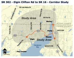 302 corridor map