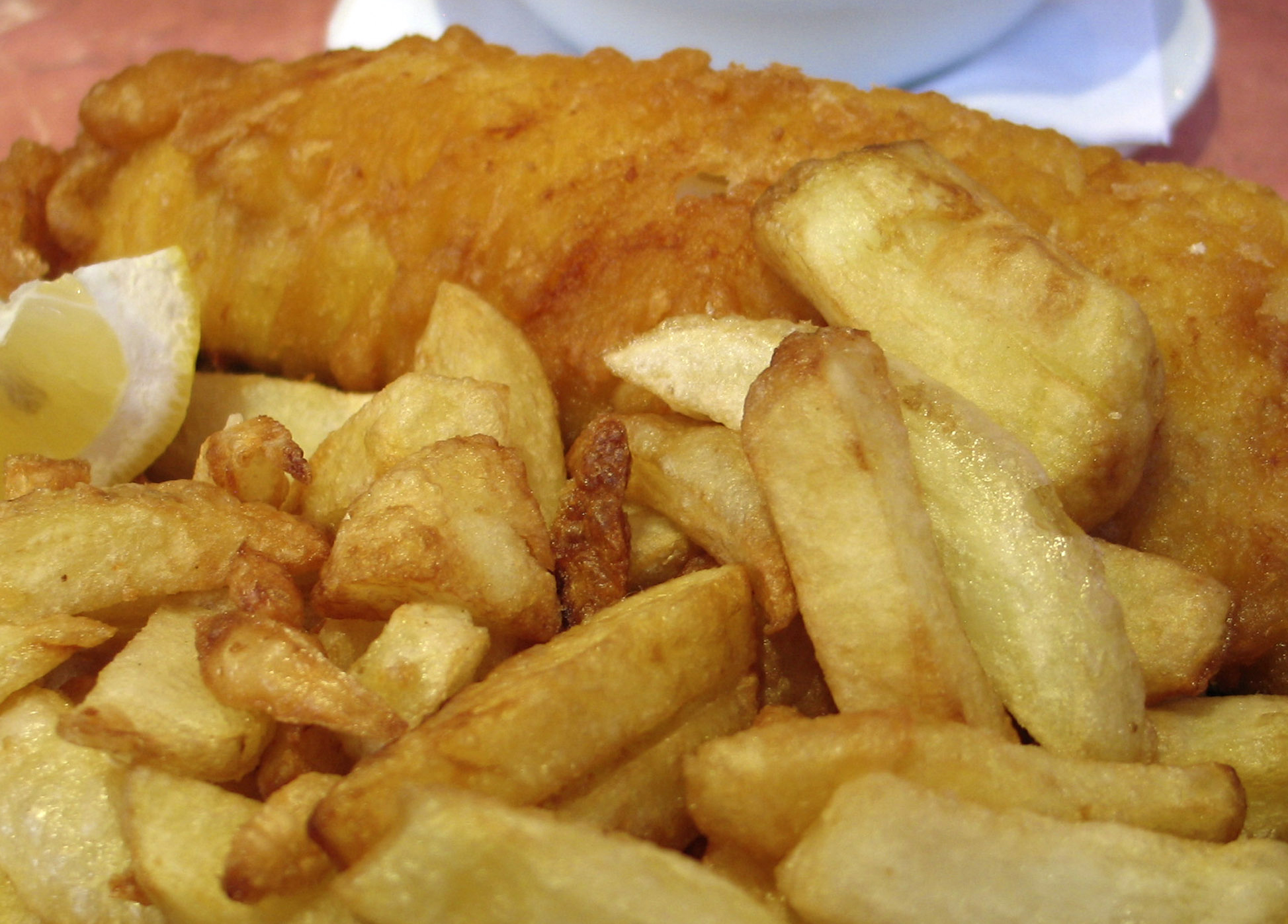 Fish and chips recipe dishmaps for Eds fish and chips
