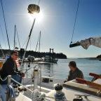 Longbranch Marina regatta, bridge dedication, spirited start of summer season