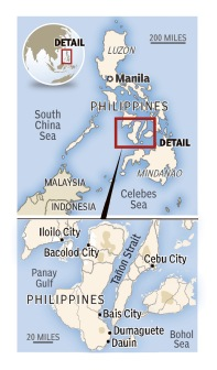 Philippine map