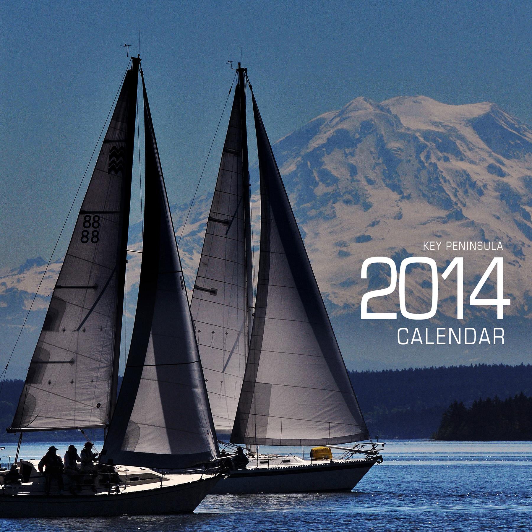Calendar Cover : Key peninsula calendar longbranch chronicles