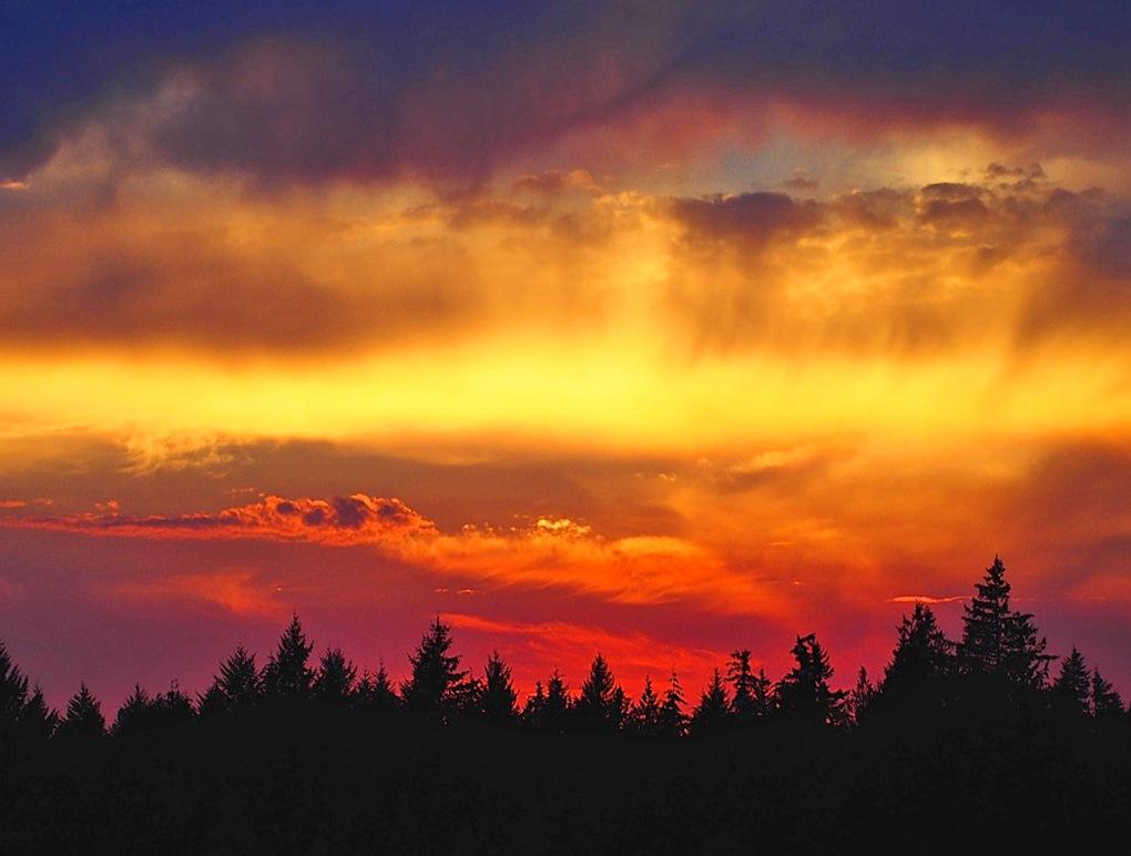 hildahl sunset