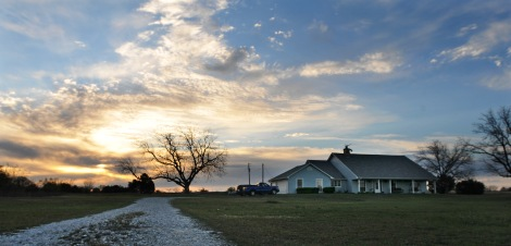 My lovely bride's folks live on a 100-acre ranch in Granbury, Texas, less than hour from Forth Worth.
