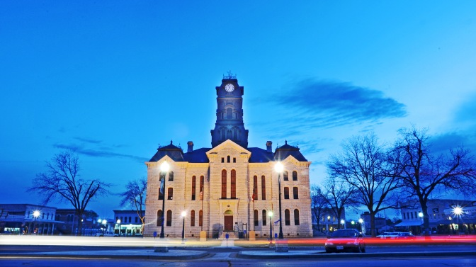 Granbury is the county seat for Hood County.