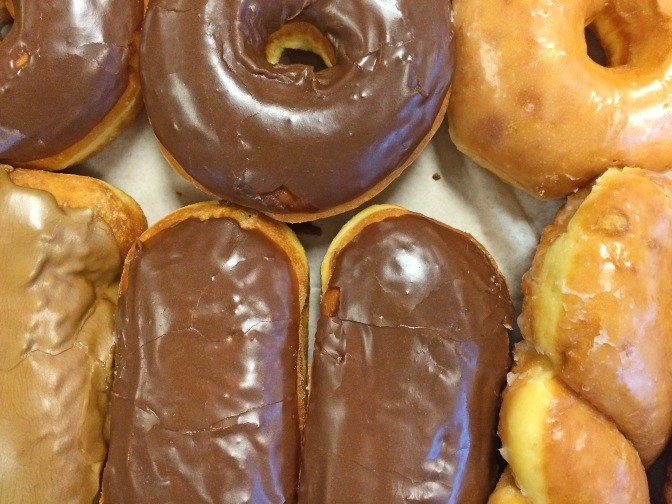 Today we marked National Doughnut Day, again. No one really knows why, but who really cares.