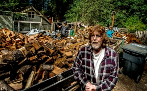 Larry Henderson and his wife Anita started the Key Peninsula Firewood Bank four years ago from their home in Longbranch. Henderson said the goal of their program is to provide firewood to low-income seniors and veterans.