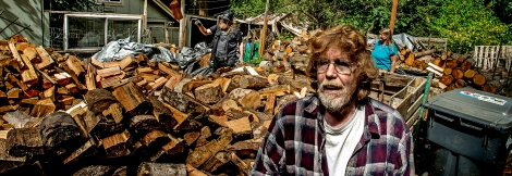 """Larry Henderson and his wife Anita started the Key Peninsula Firewood Bank four years ago from their home in Longbranch. Henderson said the goal of their program is to provide firewood to low-income seniors and veterans. """"The people in need,"""" he said. They have given out more than 120 cords of wood since they started the program, he said, asking only for a $15 donation to cover the cost of fuel. Henderson delivers the wood himself in his old pickup truck. The Hendersons received a $1,500 Spark Grant from the Greater Tacoma Community Foundation for their work. They used the money to buy a log splitter."""