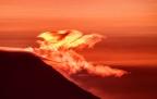 A Crimson Sunrise Explosion in Longbranch